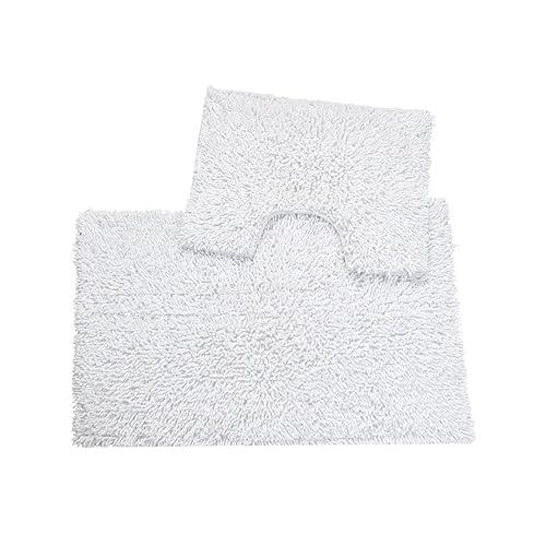 EHC Bathmat Set, White, 50_x_80_cm