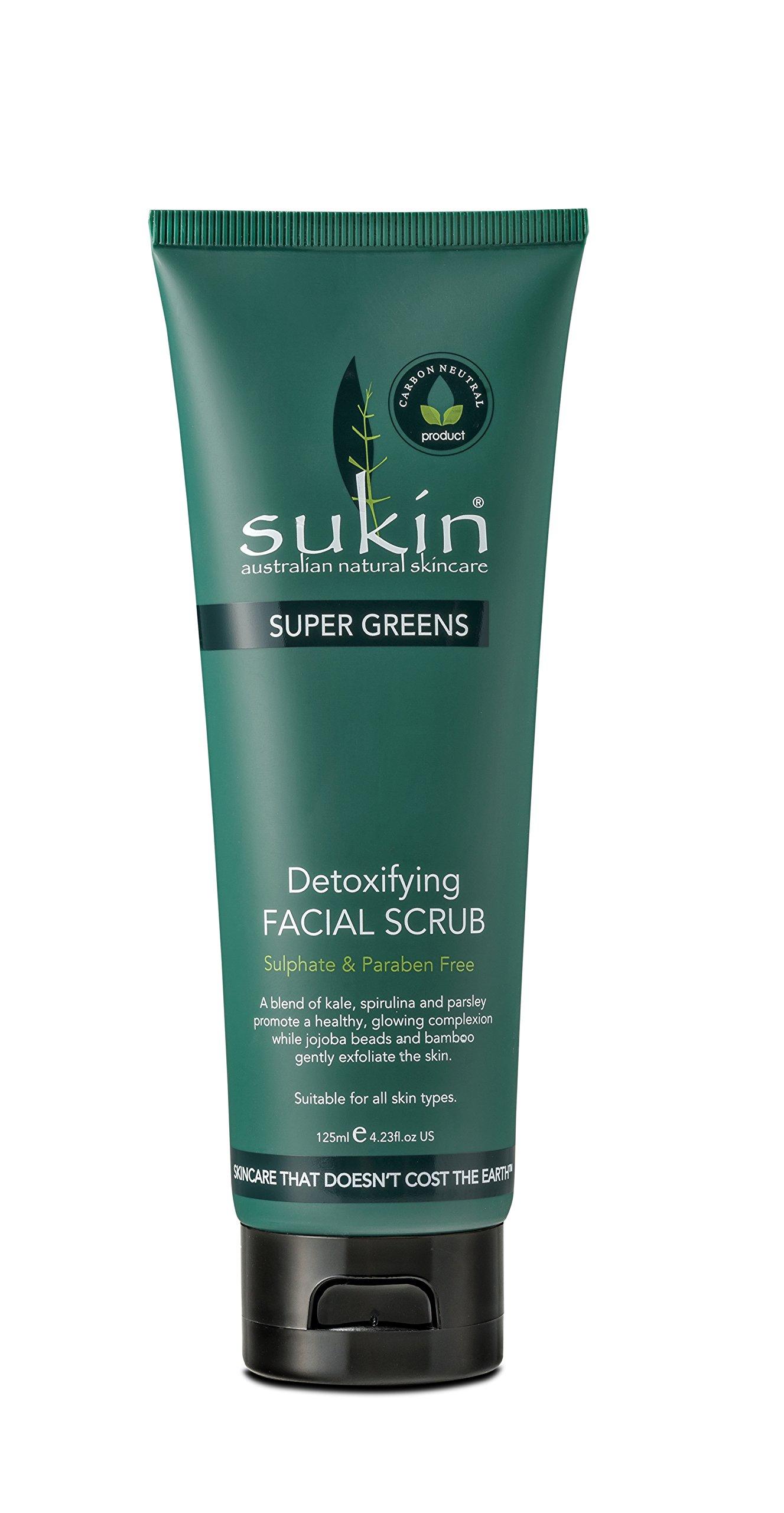 Sukin Supergreens Detox Facial Scrub by Sukin