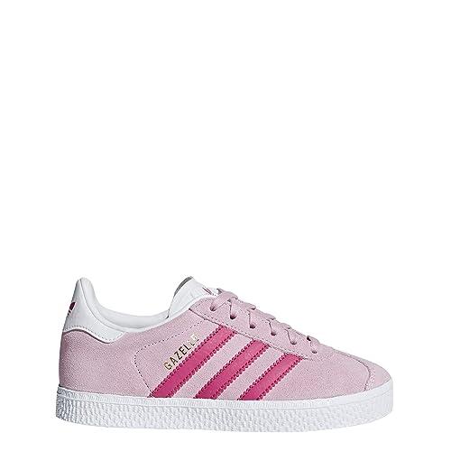 san francisco f2d2d 8c305 Adidas Gazelle C, Zapatillas de Deporte Unisex niño, (Rosa 000), 28