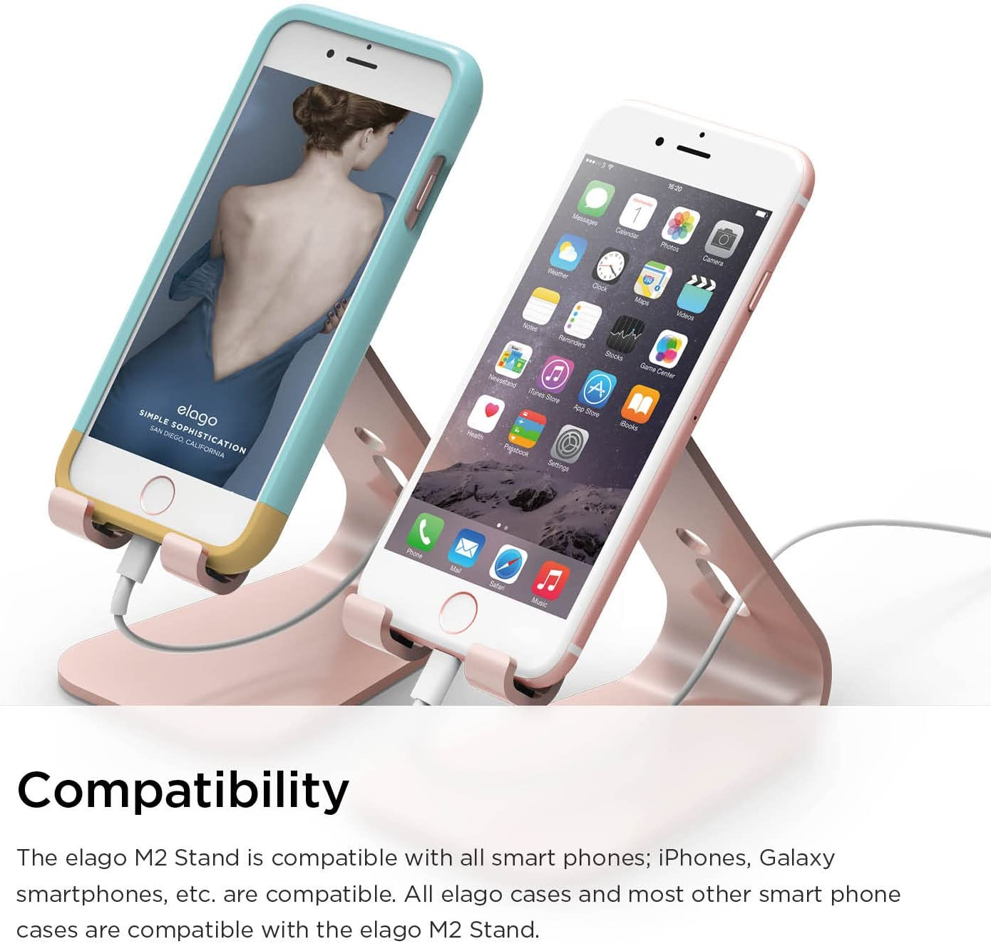 mtb more energy/® Collier pour Sony Xperia L4 /Étui /à bandouli/ère Cordon - Rose Coque pour Smartphone /à Porter au Cou 6.2