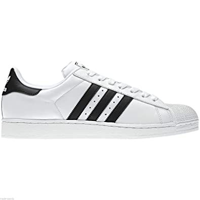 Adidas Originals Superstar Trainers in Black White Casual Shoes