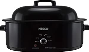 NESCO MWR18-13, Roaster Oven, 18 Quarts, Black