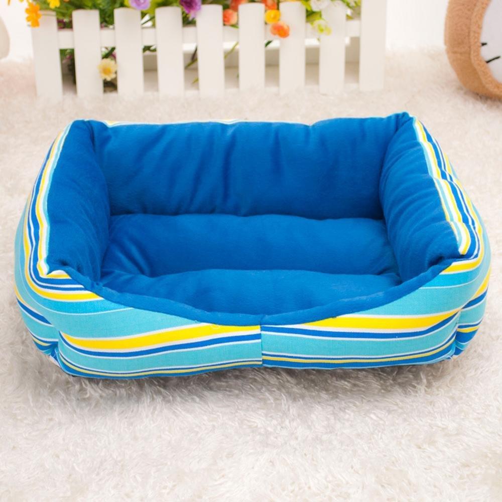A 685516cmKaxima Pet Bed for Cloth Vintage Rainbow Striped Pet Nest