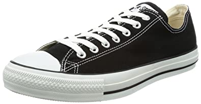 Converse Womens All star ox Low Top Lace Up Fashion Sneakers Black Size 10.0 z