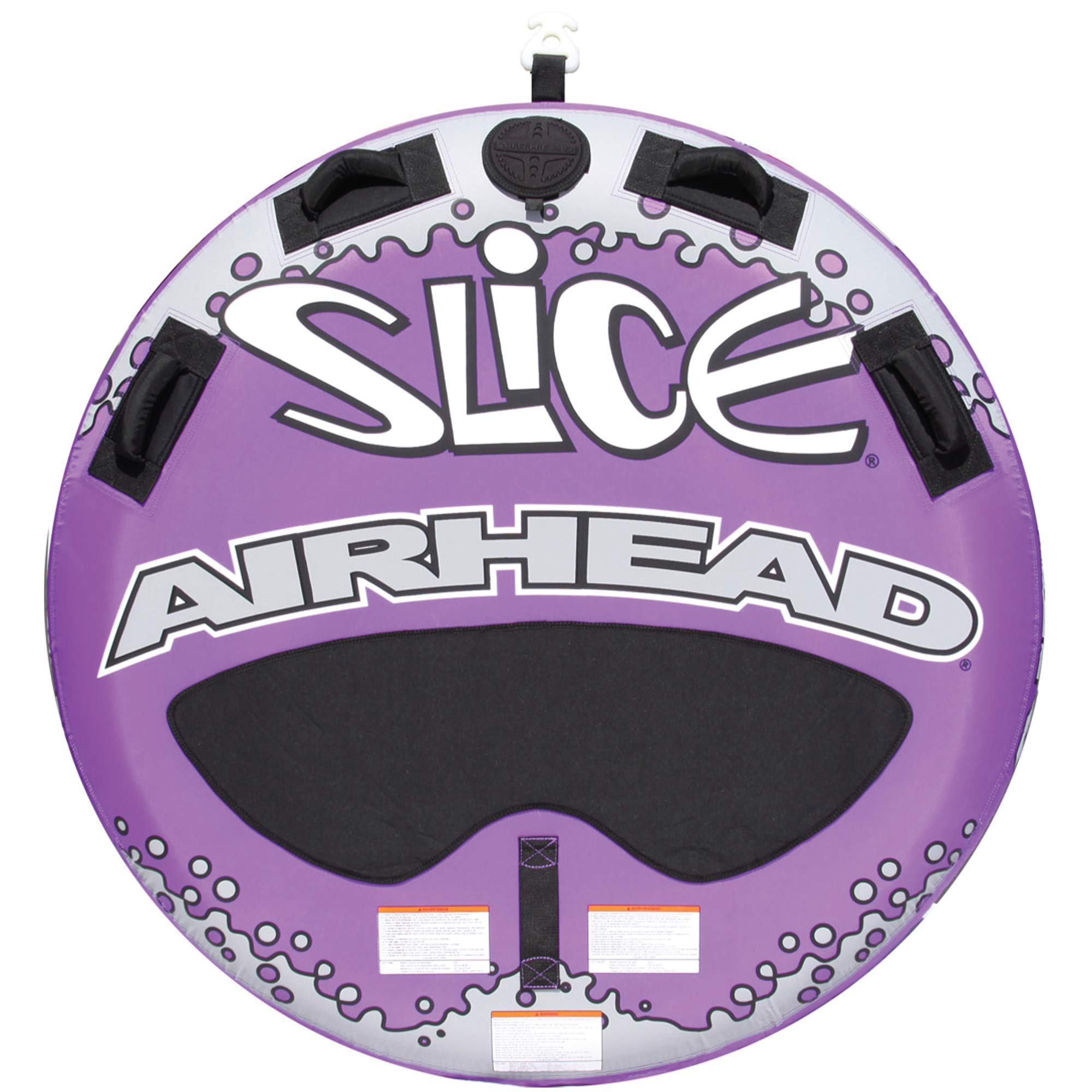 Airhead Slice   1-2 Rider Towable Tube for Boating by Airhead