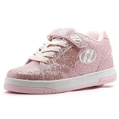 Heelys - Zapatillas de Sintético para niña Rosa Rosa Brillante: Amazon.es: Zapatos y complementos
