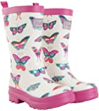 Hatley Girls' Printed Rain Boot