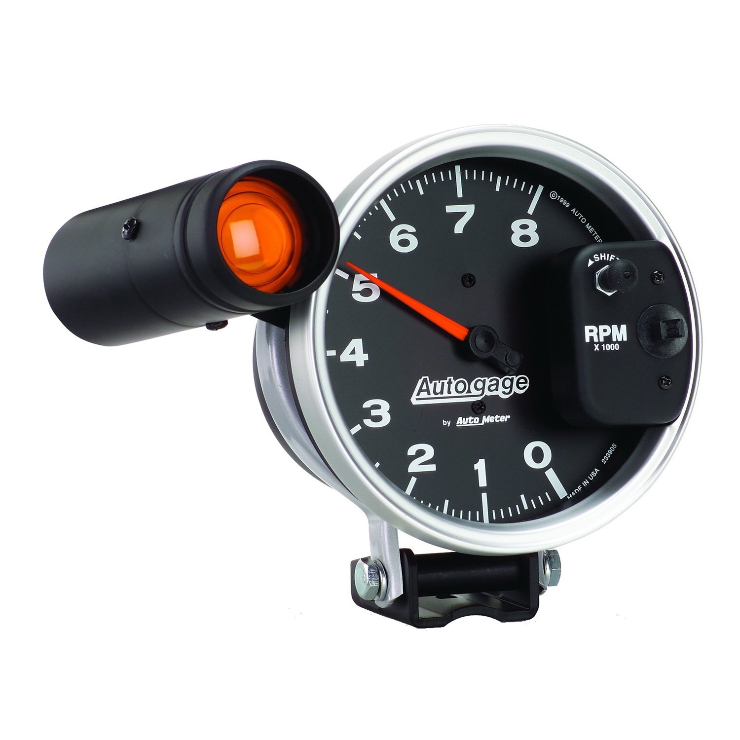AUTO METER 233905 Autogage Monster Shift-Lite Tachometer by AUTO METER