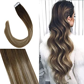 Youngsee 18 inch 100% Real Tape in Extensions