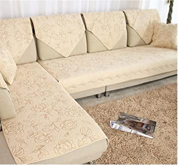Amazonde Startseite Sofakissen Stoff Leder Sofa Kissen Pastoral