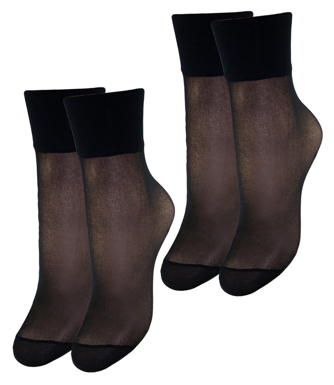 EveryHead Riese 2er, 4er oder 6er Pack Feinsöckchen Damensöckchen Sparpack Markensöckchen Socken Söckchen zauberhaft für Damen (RS-10227-S18-DA0) inkl Hutfibel