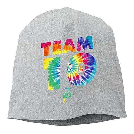 211ec7a7d Amazon.com: Team10 Tie Dye Jake Paul Men Beanie Skull Cap Hat Thick ...