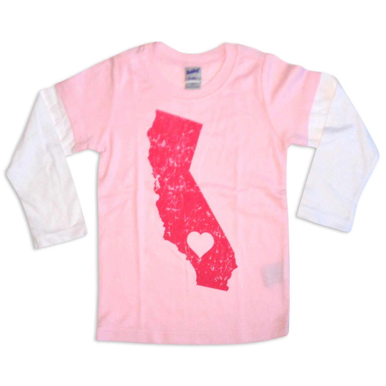 Sol Baby California Love Twofer Pink Tee-12m-Pink