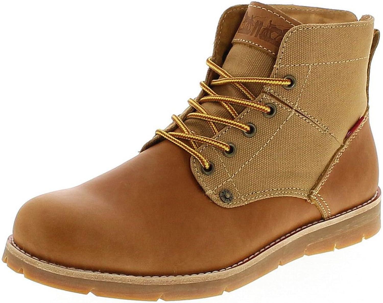 Leviacutes Footwear Jax Medium Yellow/Herren Schnürstiefel Braun/Herrenstiefel/Chukka BootsFootwear Schnürstiefel Herrenstiefel Boots Groesse