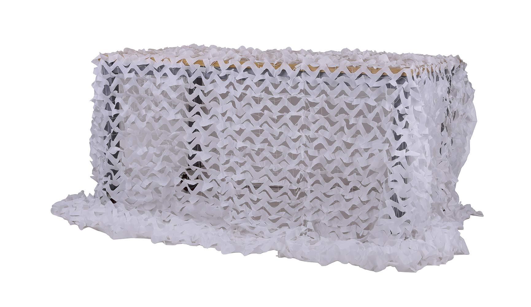 Chiglia Camouflage Netting Camo Net Sunscreen Nets Wihte 13ftx16ft
