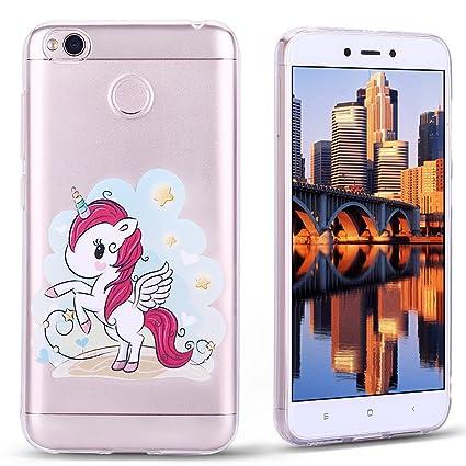 Funda Xiaomi Redmi 4 , Carcasa Redmi 4X, Cristal Suave Gel ...