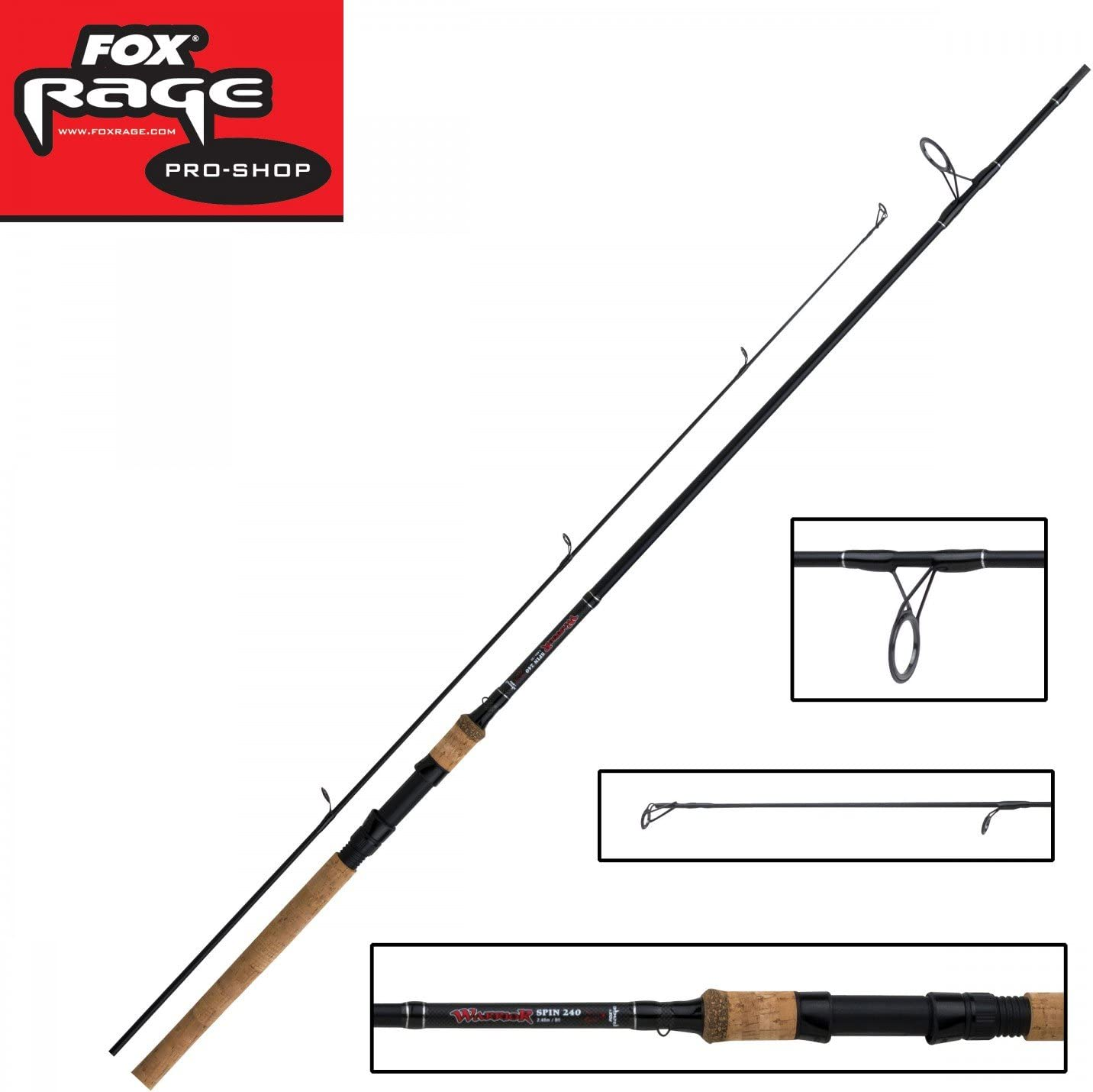 Fox Rage Warrior Cañas De Spinning - 2.70m 9 pies 10-30g: Amazon ...
