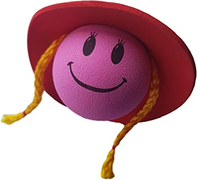 Access-All-Areas Red Hat Cow Girl Country Singer Line Dancing Aerial Ball Topper Car Locator Finder Mothers Day Girl Birthday Gift