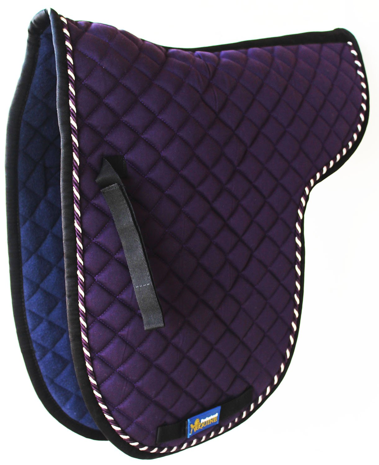 Horse Quilted ENGLISH SADDLE PAD Trail Contoured Gel 72F44   B07658YKN1