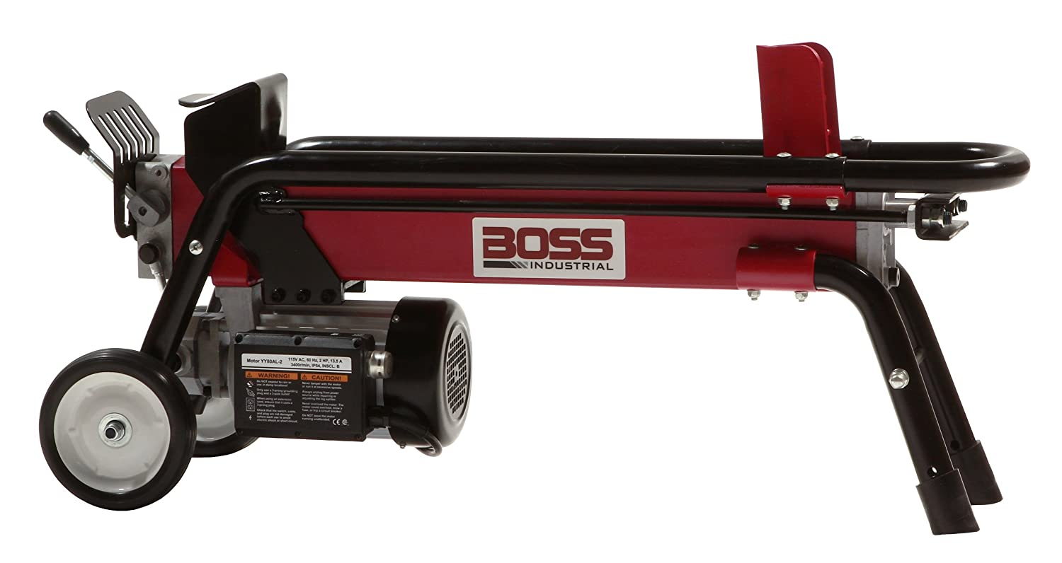 Boss Industrial best electric log splitter