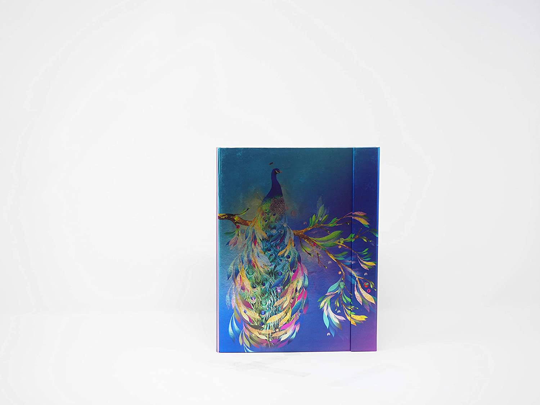 Metallic Cover Journal (Blue Hearths) Simple Dream