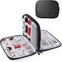 TYCKA Bolsa de Cable portátil de Viajes Organizador Accesorios para Tableta, Organizar los Accesorios electrónios Cables…