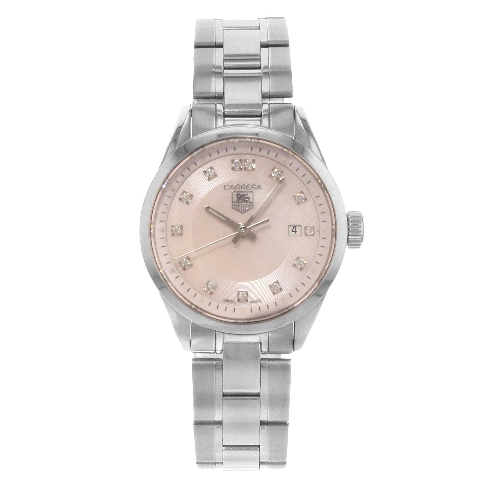 Tag Heuer Carrera quartz womens Watch WV1417.BA0793 (Certified Pre-owned)