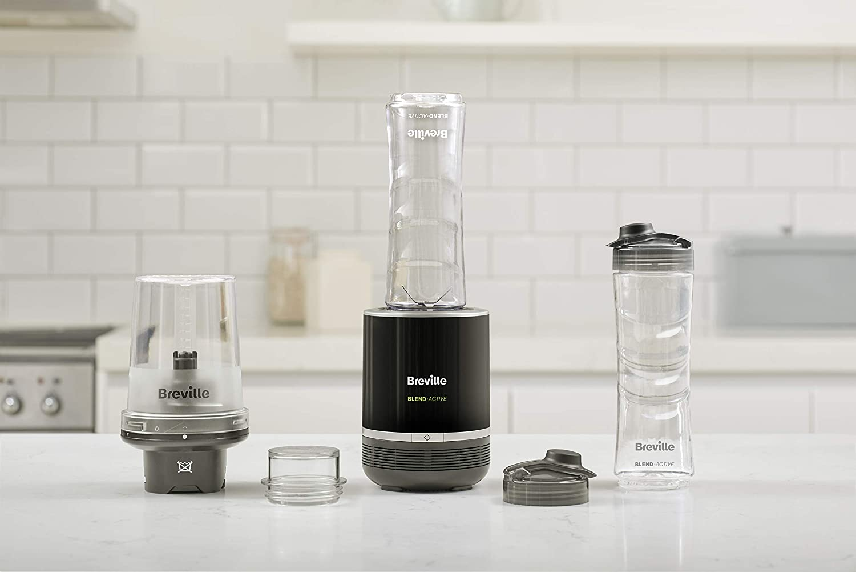 Breville Procesador de Alimentos Blend Active Pro con, 300 W, 0.5 l, Negro, 0: Amazon.es: Hogar