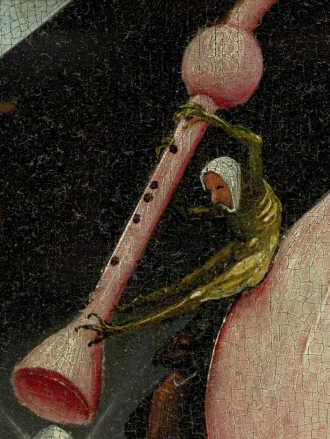 Bosch Hieronymus The Garden of Earthly Delights Right Panel Detail Bagpipe Left Disk of Tree Man Puzzles Jigsaw 500 Piece