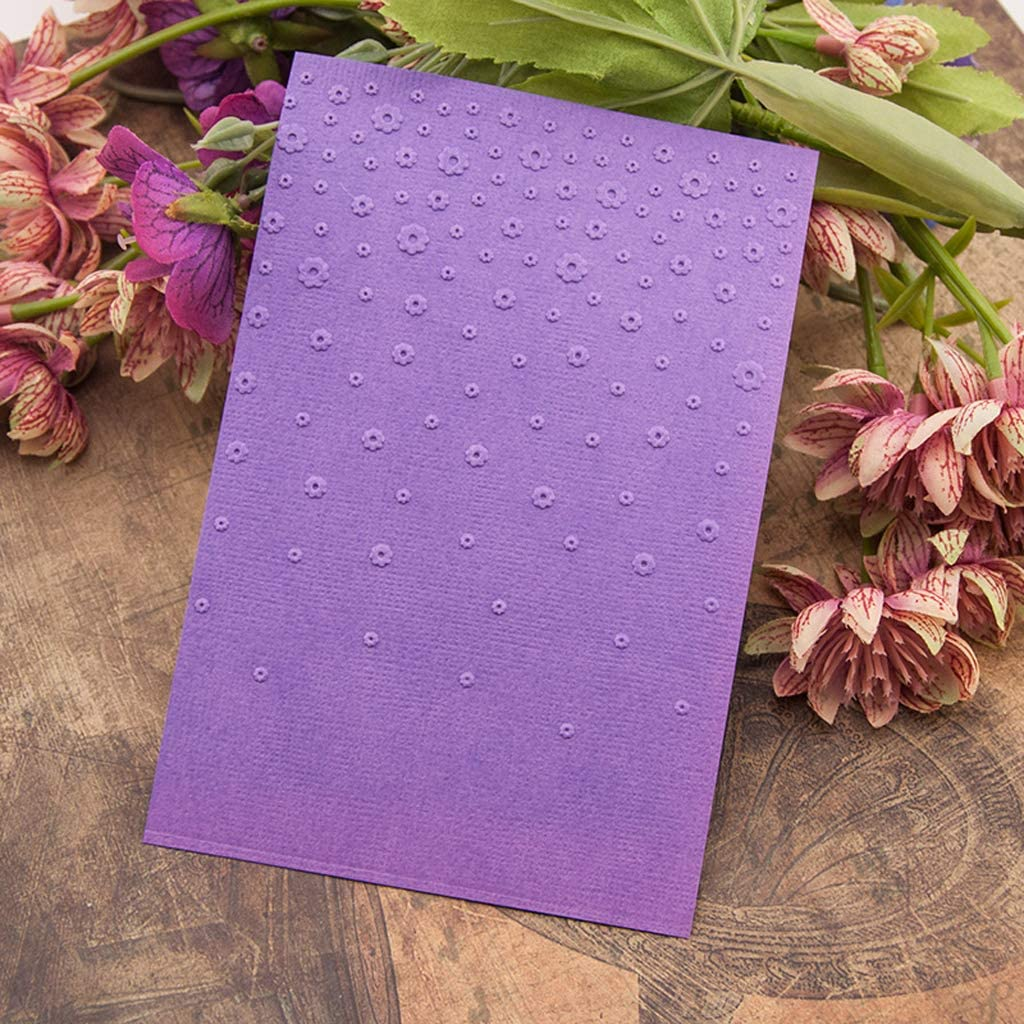 haninetrosty Plastic Embossing Folder Template DIY Scrapbook Photo Album Cards Flower Crafts