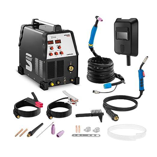 Stamos Power - S-MTM 220 - Soldadora multiproceso - TIG 220 A-MIG 220 A - Envío Gratuito: Amazon.es: Industria, empresas y ciencia