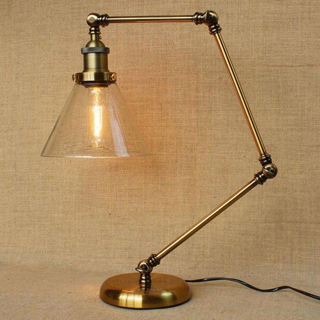 lámpara de escritorio Retro Minimalista Creativa De Viento Industrial