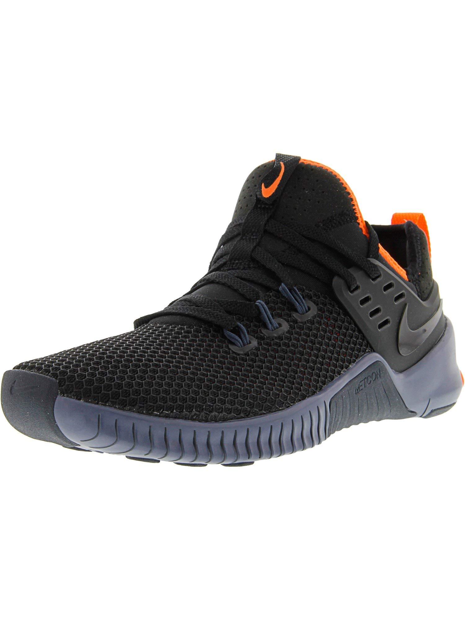 Nike Men's Free Metcon Black/Thunder Blue Ankle-High Cross Trainer Shoe - 7.5M