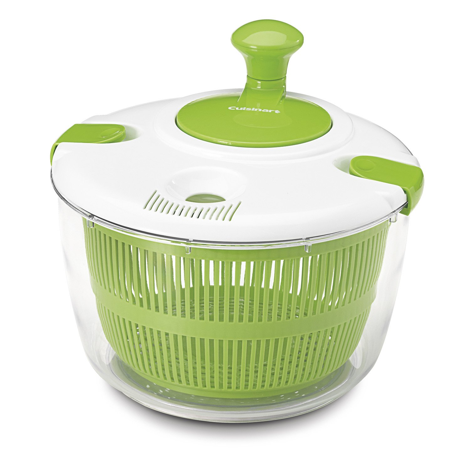Salad spinner how it works