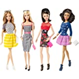 Barbie and Friends Fashionistas Toy - 4 Deluxe Fashion Doll Playset