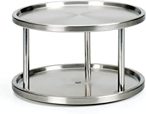 """RSVP International (TURN-2) Two-Tier Turntable Lazy Susan 