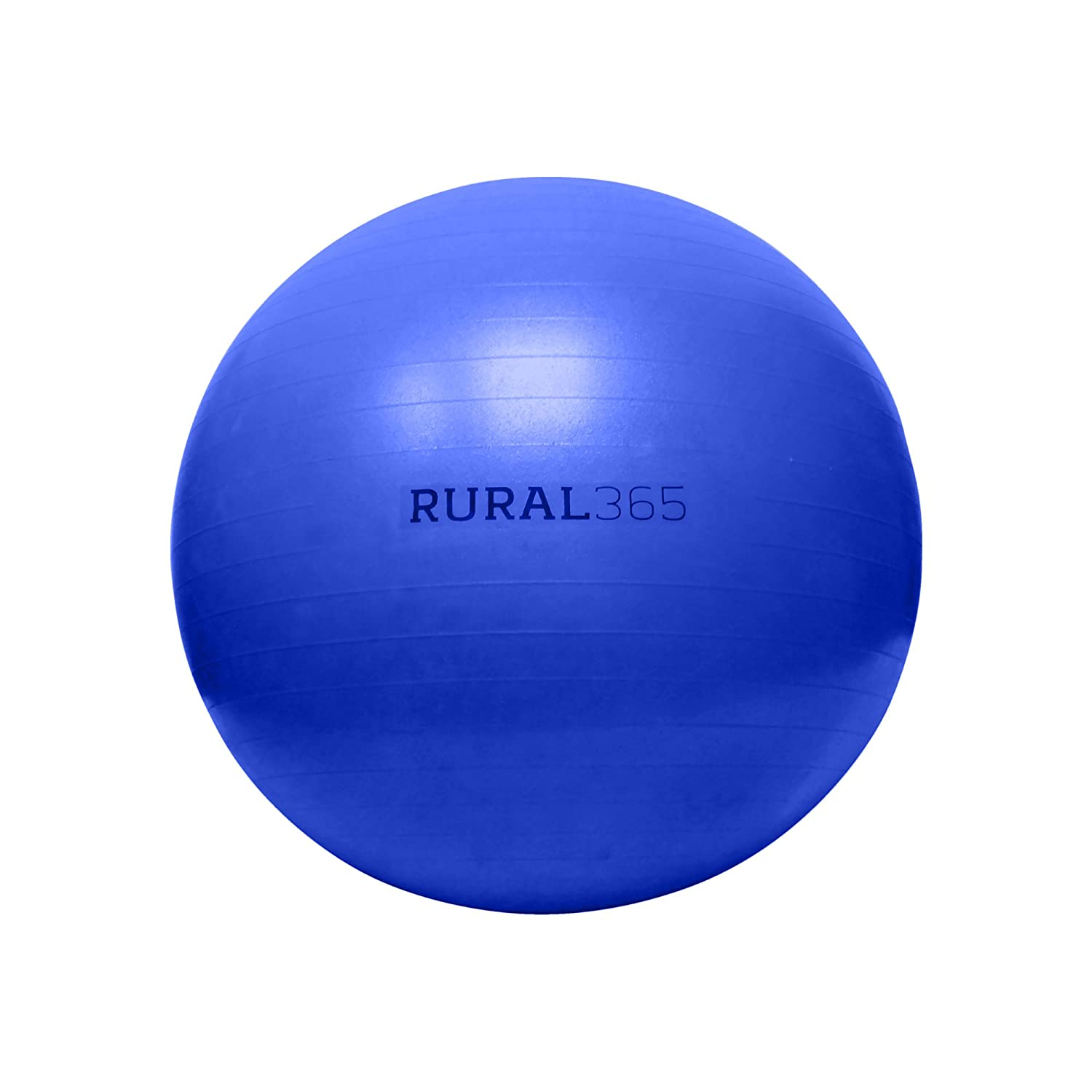 """Rural365 Large Horse Ball Toy in Blue, 40"""" Inch Ball Anti-Burst Giant Horse Ball – Horse Soccer Ball, Pump Included"""