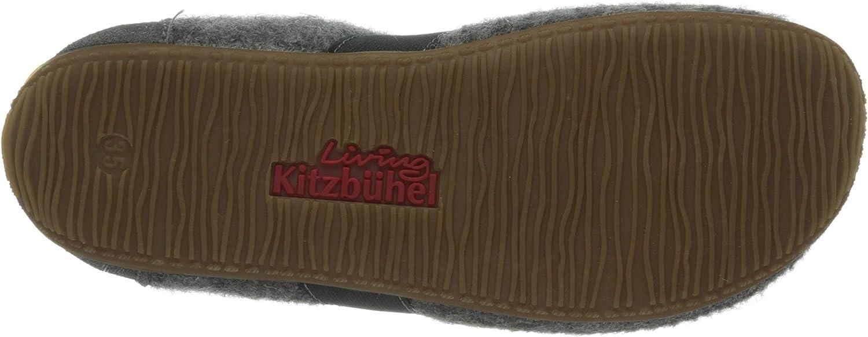 Grau Living Kitzb/ühel T-modell Uni 23 EU Jungen Ungef/üttert Niedrig Hausschuhe 610 grau