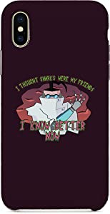 Mad Professor Science Doctor Robotic Shark Arm Parody - Case Compatible with iPhone X 10 XR