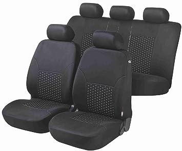 RAU Universal Schonbezug Sitzbezug Vordersitze grau-schwarz Fahrzeug Siehe Text