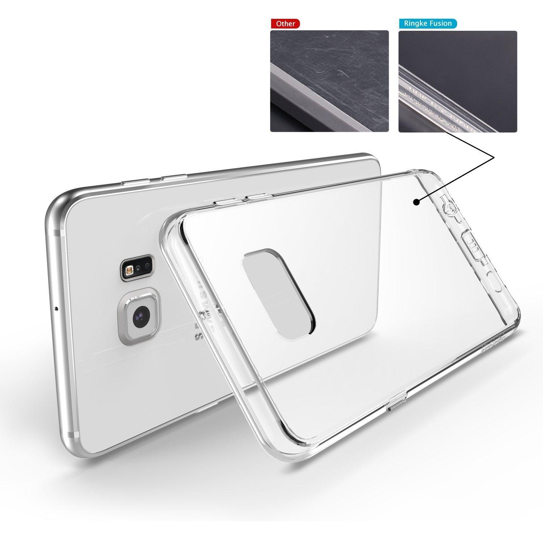 Ringke Fusion Compatible With Galaxy S6 Edge Plus Case Hardcase Anti Shock Caseology Vanvo Iphone 6 Black Electronics