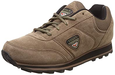 71d2afc503 Lakhani Men's TCH098 Brown Synthetic Casual Shoes 9: Buy Online at ...