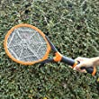 Aspectek - Rechargeable Handheld Mosquito Wasp Killer, Bug Zapper, Fly Zapper, Fly Swatter, Insect Killer, Mosquito Zapper, Mosuiqto Control, Mosquito Killer with Detachable Flash Light