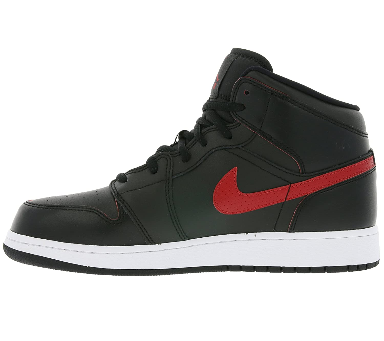 Nike Air Jordan 1 Mid BG- Chaussures de Basketball Garçon, Noir (Black/Gym  Filet Gym Filet White), 38.5 EU: Amazon.fr: Chaussures et Sacs