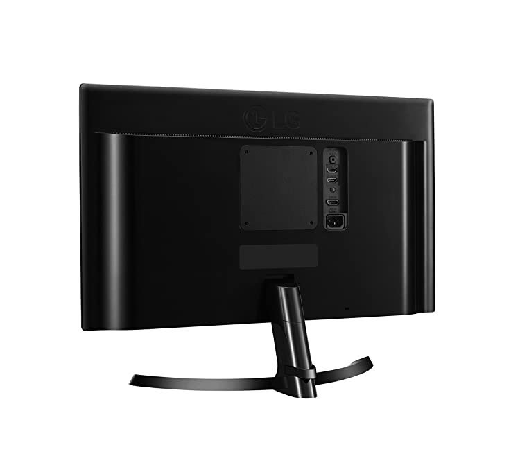 LG 24UD58-B 24-Inch 4K Monitor with offers 2 HDMI ports and 1 DisplayPort