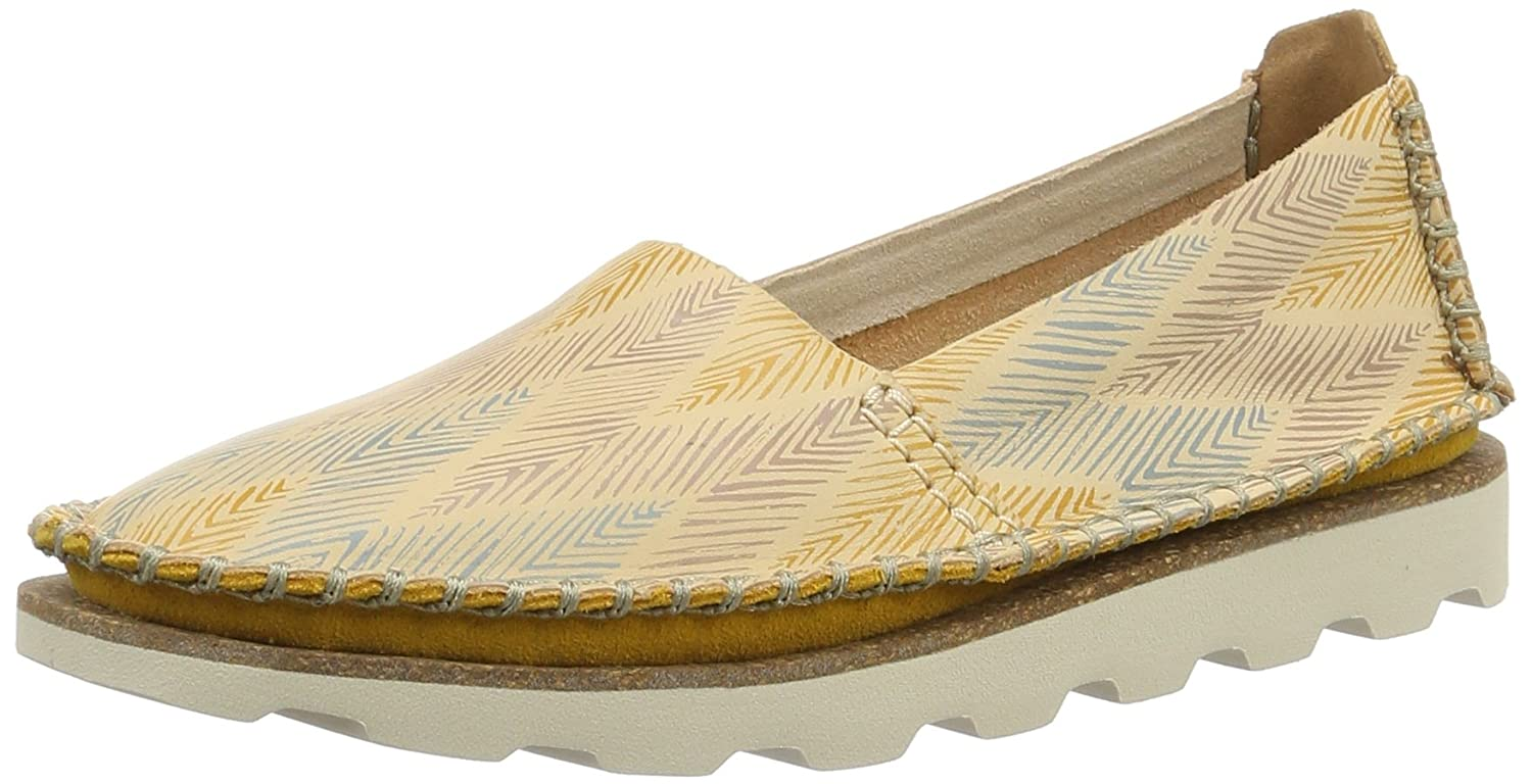 Clarks Damara Chic - Nude Combi (Leather) Womens Shoes