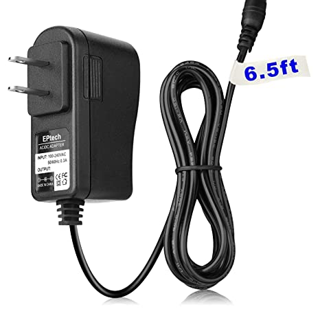 EPtech AC/DC Adapter Replacement for RCA Cambio W101-CS W101CS W101SA23T1  W101SA23T1S W101SA23T1B W101SA23T1P W101SA23T2 W101SA23T2F8 2-in-1 Tablet