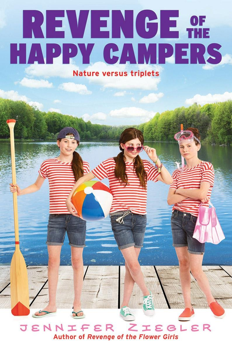 Revenge Of The Happy Campers (the Brewster Triplets): Jennifer Ziegler:  9781338091199: Amazon: Books