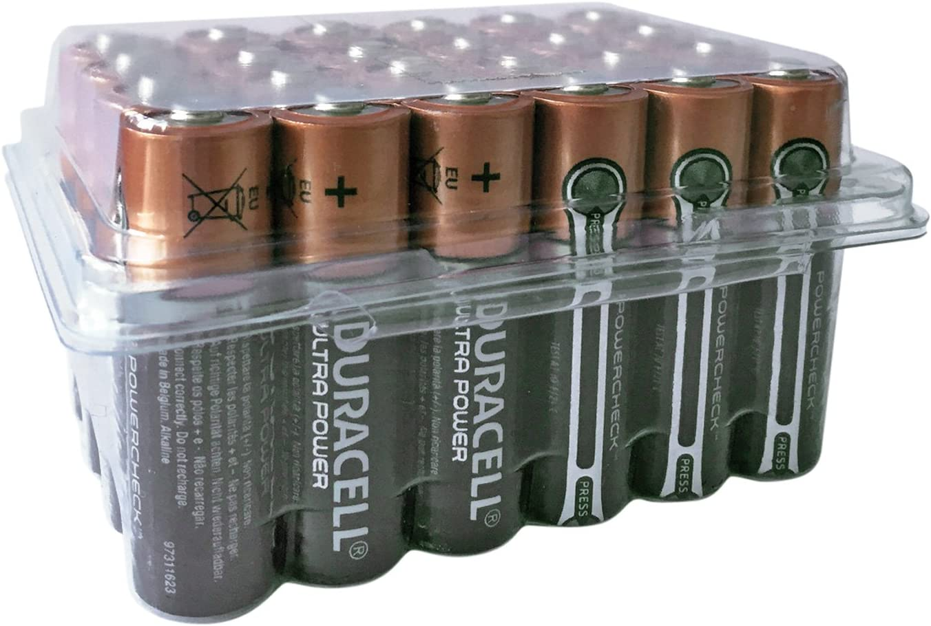 Duracell Ultra Power MX1500 - Pilas AA (24 unidades)