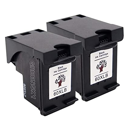 greensky Cartuchos de tinta remanufacturados para HP 60 X L ...